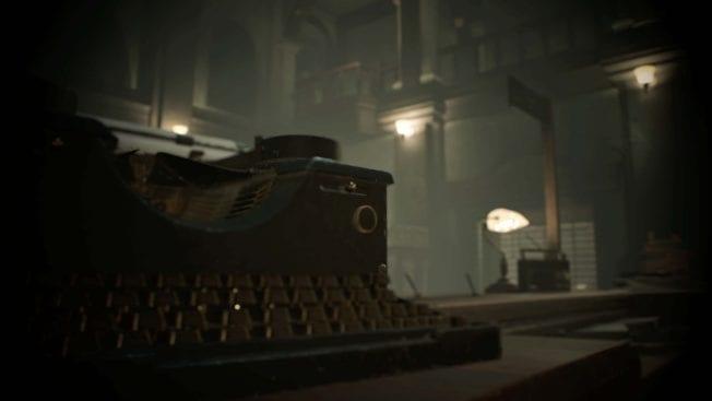 Resident Evil 2 - Schreibmaschine