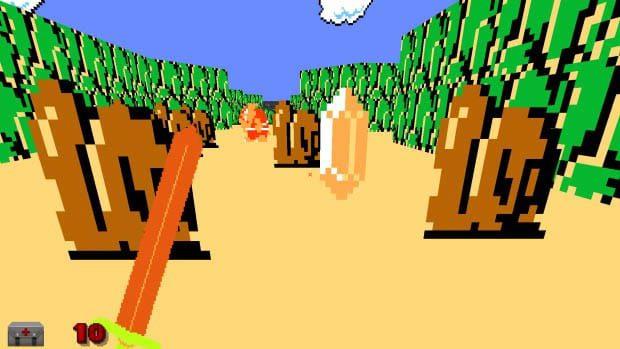 Zelda in Doom