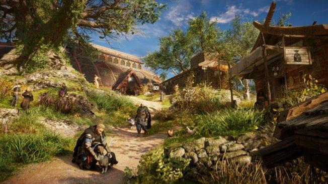 Assassin's Creed Valhalla Siedlung Leben