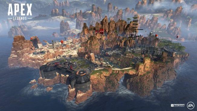 Apex Legends Bilder Map