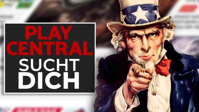PlayCentral sucht Unterstützung