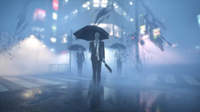 GhostWire Tokyo Mann im Anzug
