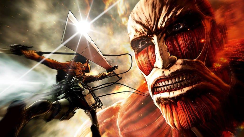 Titans attack nackt on Rina Takeda
