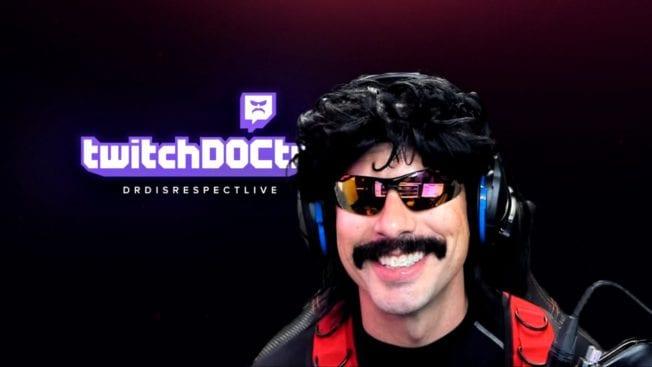 Dr Disrespect auf Twitch