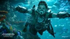 Horizon: Forbidden West Tauchen Unterwasser