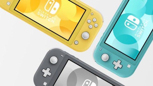 Nintendo Switch Lite Leak