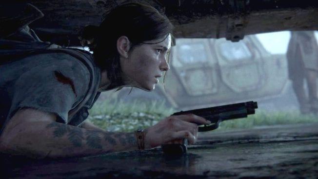 The Last of Us 2 Ellie Auto verstecken
