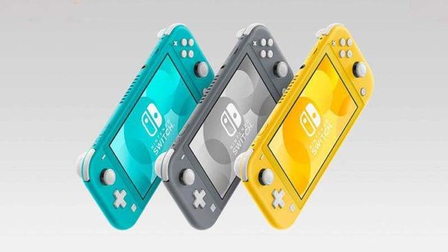 Nintendo Switch Lite verschiedenen Farben