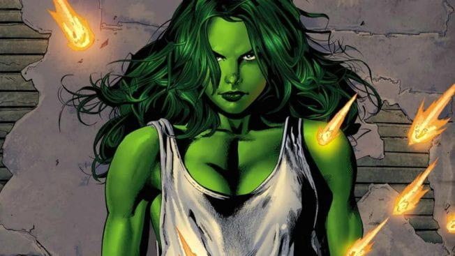 She-Hulk Marvel Comic
