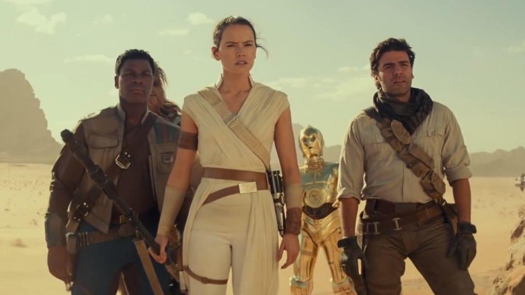Star Wars: Finn, Poe, Rey als Trio - ein seltener Anblick
