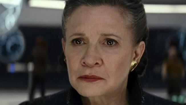 Carrie Fishers Leia Organa