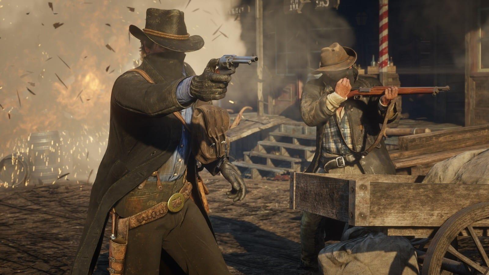 In Red Dead Redemption 2 werdet ihr euch immer wieder Schusswechsel liefern.