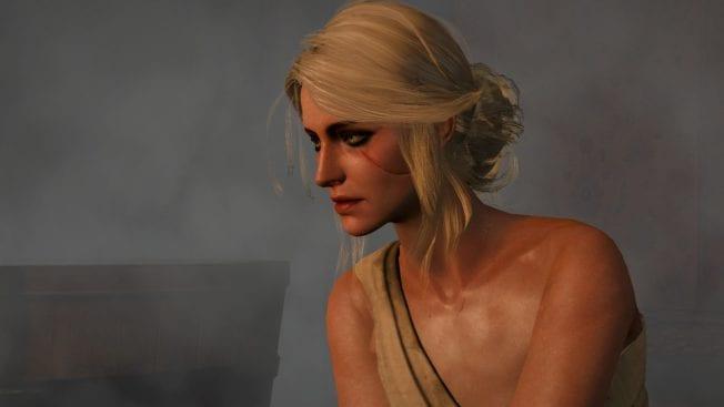 The Witcher 3 Ciri Sauna
