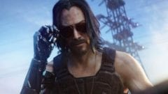 Cyberpunk 2077 Johnny Silverhand Night City Wire