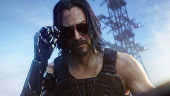 Cyberpunk 2077 Johnny Silverhand Night City Wire