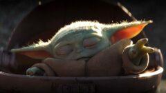 Baby Yoda als Cosplay