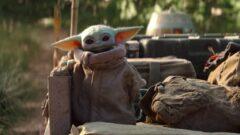 George Lucas trifft Baby Yoda