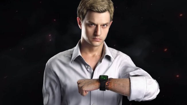 Ethan Winters in Resident Evil 8