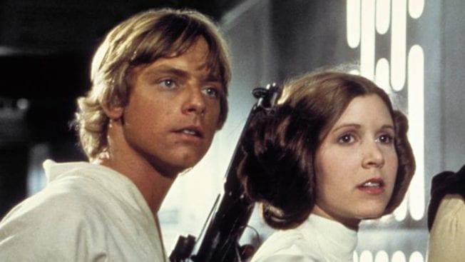Star Wars Mark Hamill und Carrie Fisher