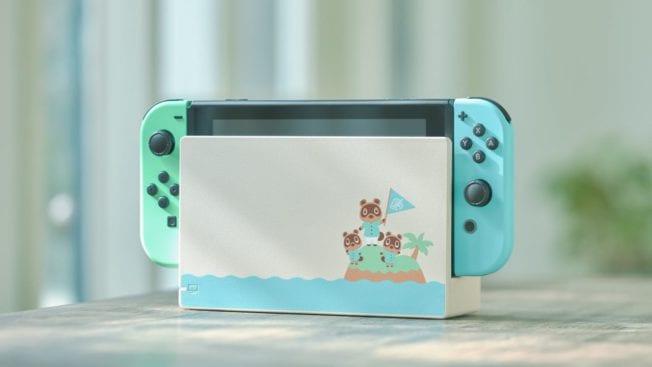 Die hübsche Sonderedition der Nintendo Switch erscheint im März