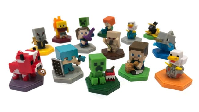 Sammelfiguren für Minecraft Earth