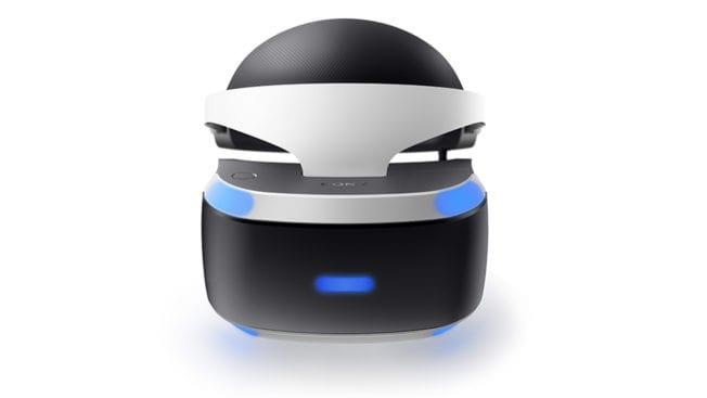PlayStation VR Headset (Oben)