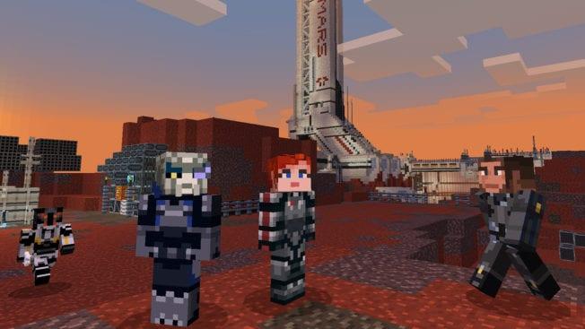 Mass Effect in Minecraft