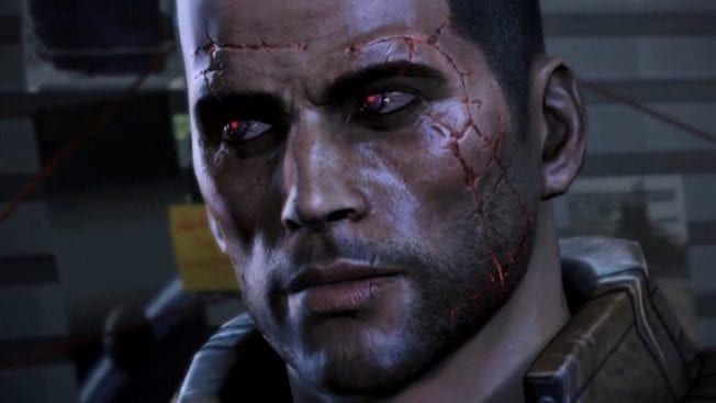 Mass Effect 3 Commander Shepard Abtrünnig