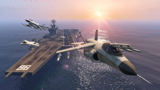 GTA 5 FLugzeugträger