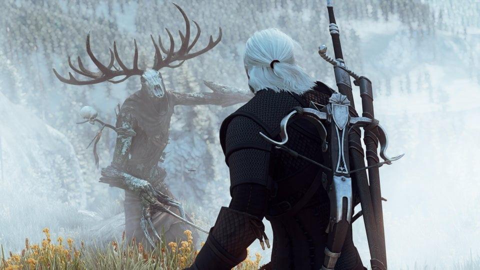 The Witcher 3 Geralt Waldschrat 8K