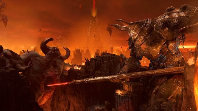 DOOM Eternal Kampf der Titanen