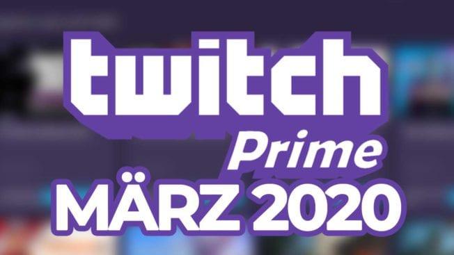 Twitch Prime Spiele März 2020