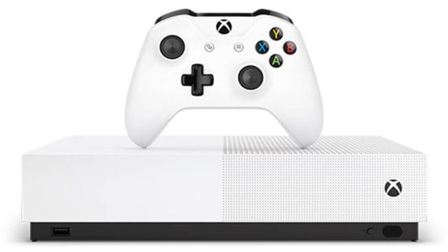 Xbox One S – All Digital Edition