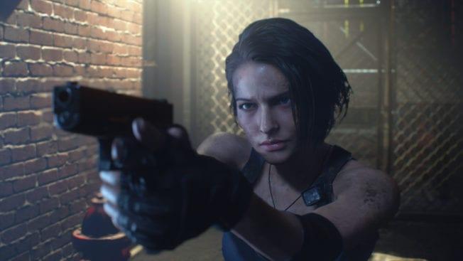 Resident Evil 3 Demo Jill Valentine