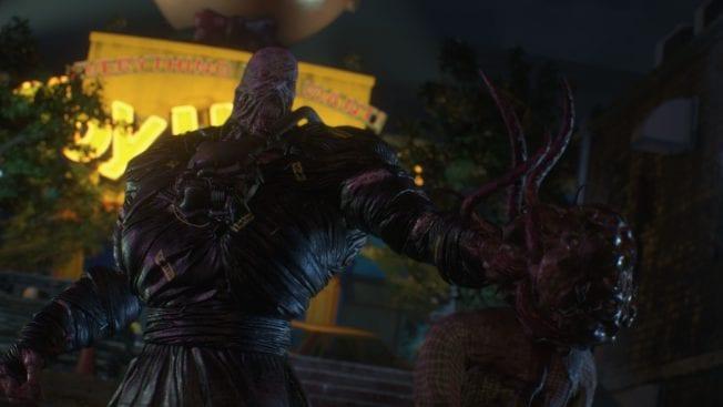 Resident Evil 3 Demo Nemesis