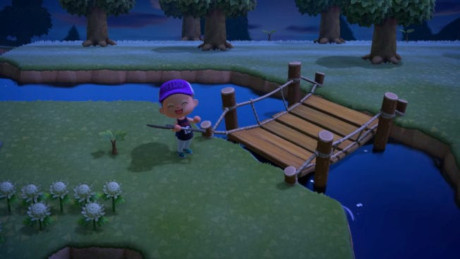 Animal Crossing: New Horizons Brücke