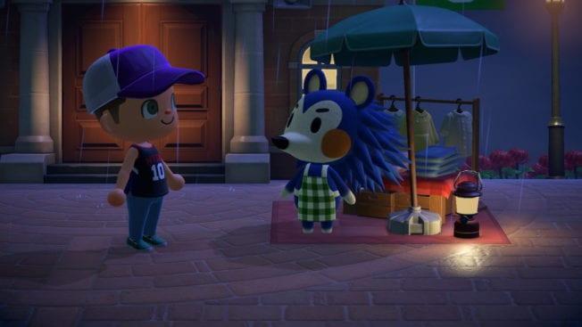 Animal Crossing: New Horizons Nacht