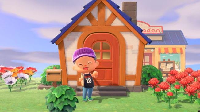 Animal Crossing: New Horizons Glücklich