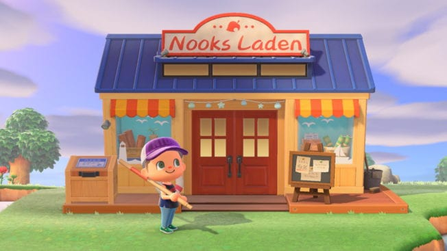 Animal Crossing: New Horizons Nooks Laden