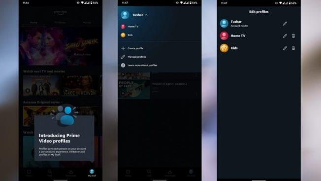 Amazon Prime Video Profile erstellen