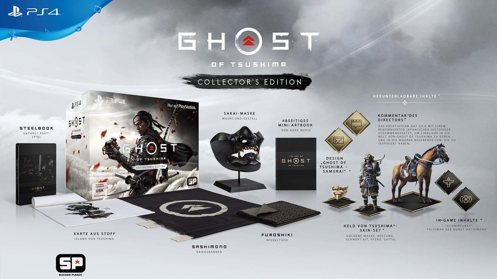 Collectors Edition von Ghost of Tsushima