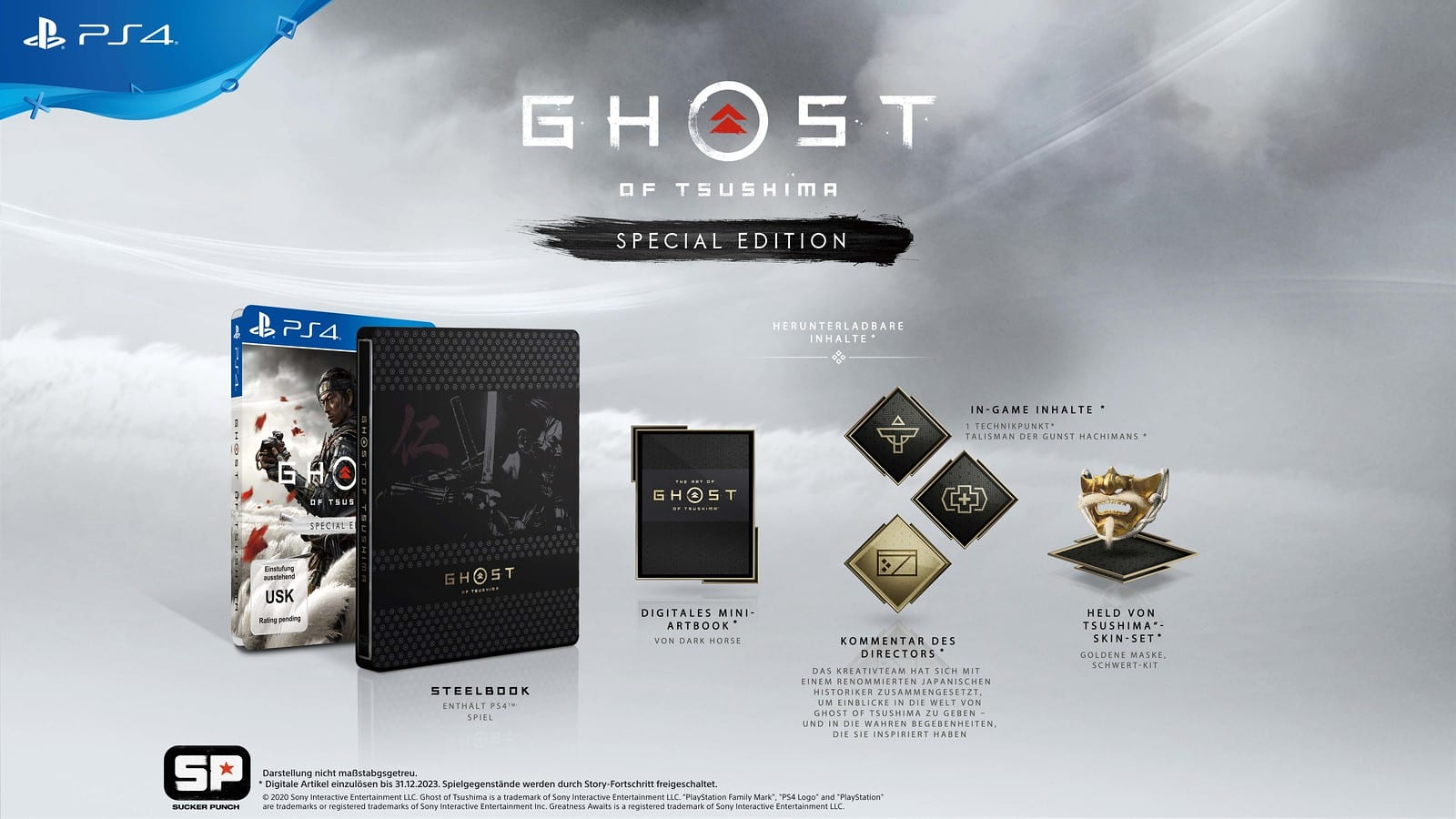 Special Edition von Ghost of Tsushima