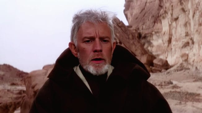Obi-Wan Kenobi Deep Fake