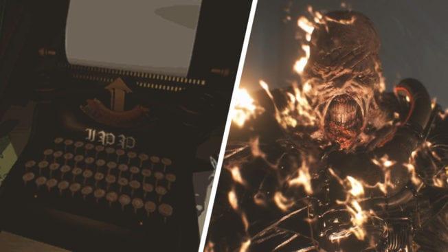 Resident Evil 3 Nemesis Saferoom