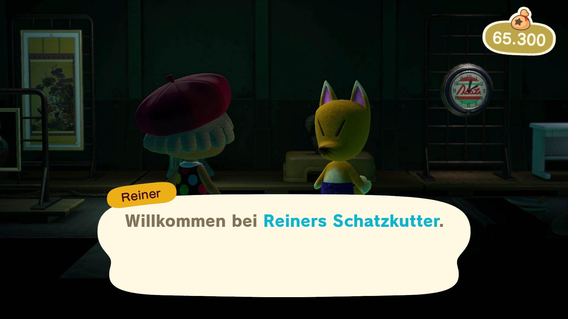 Kunstkenner Reiner kommt auf eure Animal Crossing New Horizons-Insel