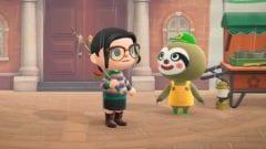 Gerd ist mit seiner fahrenden Gärtnerei in Animal Crossing: New Horizons eingezogen