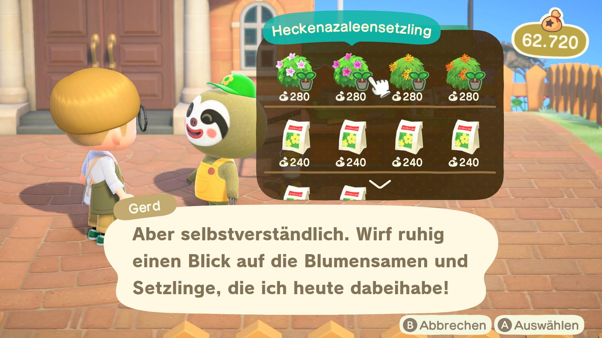 Animal Crossing New Horizons bringt Gerd das Faultier zurück