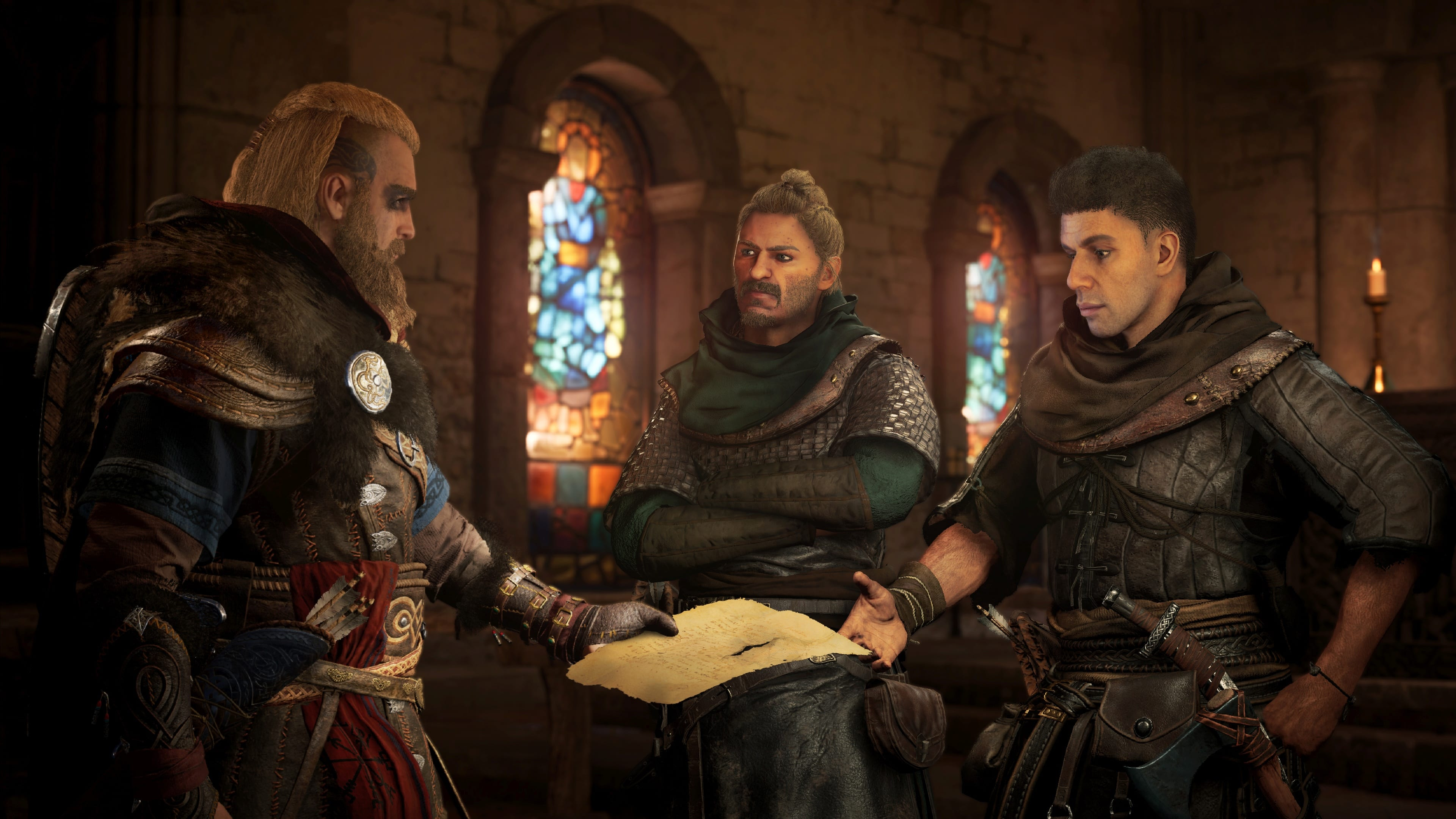 Assassin's Creed Valhalla Cutscene