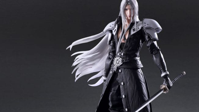 FF7R Actionfigur Sephiroth Cover