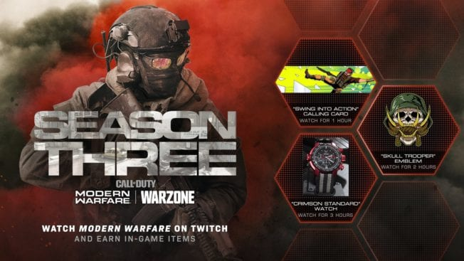 Modern Warfare Twitch Loot